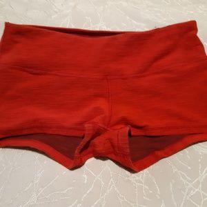 Lululemon Red Boogie Shorts Size 8